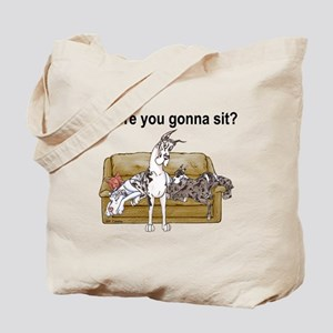 4on Where You Gonna Sit Tote Bag