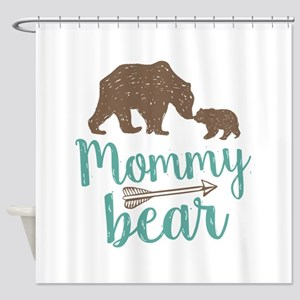 Mommy Bear Shower Curtain