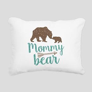 Mommy Bear Rectangular Canvas Pillow