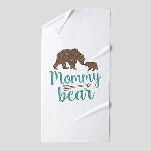 Mommy Bear Beach Towel