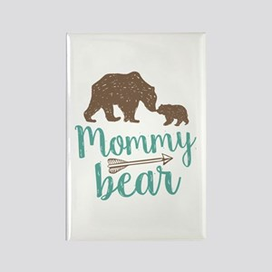 Mommy Bear Rectangle Magnet