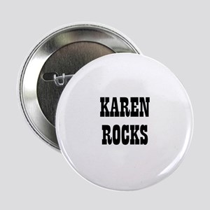 KAREN ROCKS Button