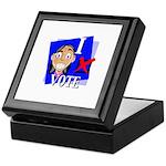 I Vote Keepsake Box