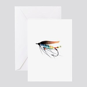 Atlantic Gardener Fly Greeting Card
