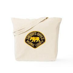 Plumas County Sheriff Tote Bag