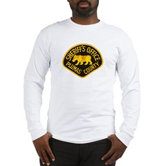 Plumas County Sheriff Long Sleeve T-Shirt