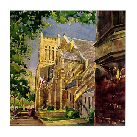 Cathedral Church of the Advent Tile Coaster