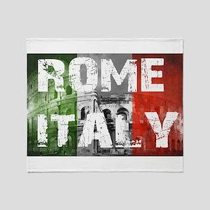 ROME ITALY Throw Blanket
