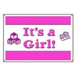 It's A Girl! Banner