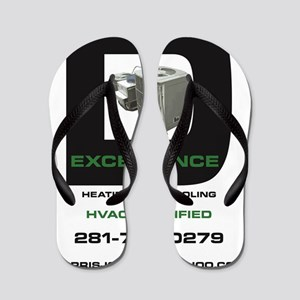1014ced6556a Heating Hvac Flip Flops - CafePress