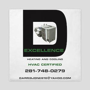D-Excellence HVAC Queen Duvet