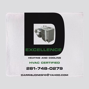 D-Excellence HVAC Throw Blanket