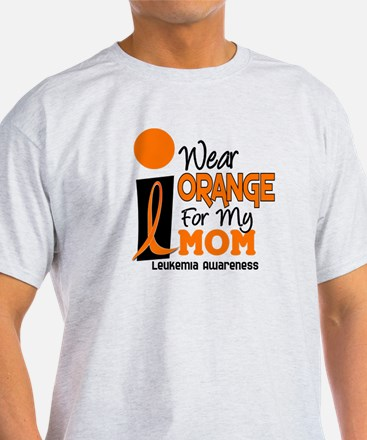 I Wear Orange For My Mom 9 T-Shirt