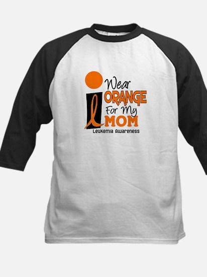 I Wear Orange For My Mom 9 Kids Baseball Jersey
