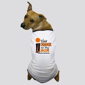 I Wear Orange For My Mom 9 Dog T-Shirt