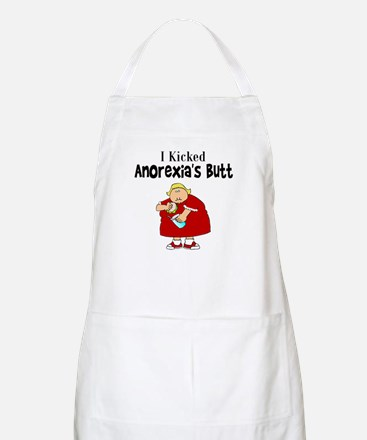 I Kicked Anorexia's Butt Apron