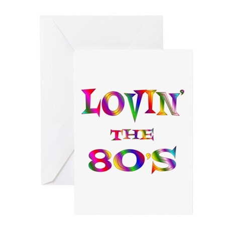 80's Greeting Cards (Pk of 20)
