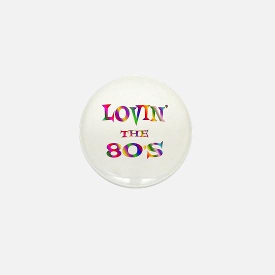 80's Mini Button