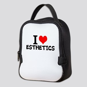 I Love Esthetics Neoprene Lunch Bag