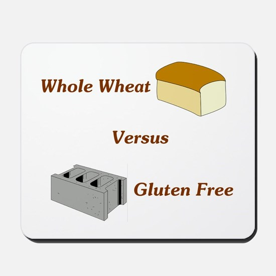 Wheat vs. Gluten Free Mousepad