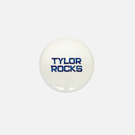 tylor rocks Mini Button