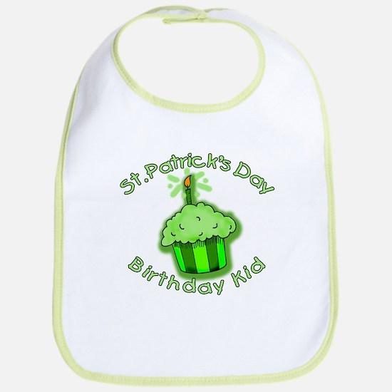 St Patricks Day Birthday Kid Bib