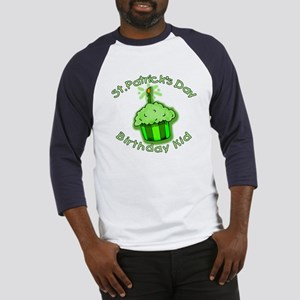 St Patricks Day Birthday Kid Baseball Jersey