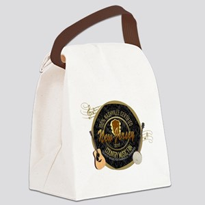 New Jersey Country Music Fan Canvas Lunch Bag