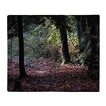 Fall Forest Throw Blanket