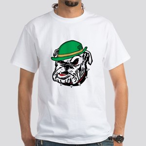 Irish Bulldog White T-Shirt