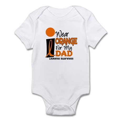 I Wear Orange For My Dad 9 Infant Bodysuit