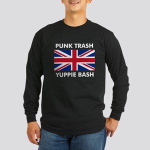 Punk Trash Long Sleeve Dark T-Shirt