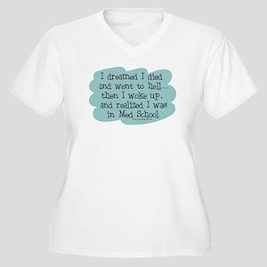 Med School Hell Women's Plus Size V-Neck T-Shirt