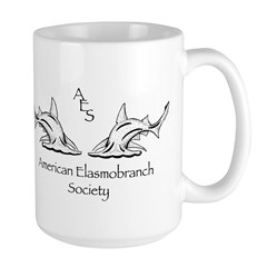 AES Hammerhead Lrg Mug by Gwen Goodmanlowe