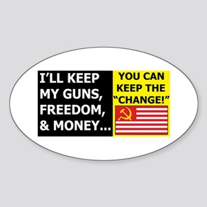 I'll Keep My Guns, Freedom, a Oval Sticker