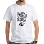 Polka Hero White T-Shirt