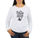 Polka Hero Women's Long Sleeve T-Shirt
