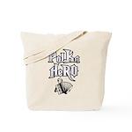 Polka Hero Tote Bag