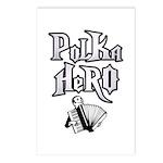 Polka Hero Postcards (Package of 8)