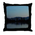 Evening Water Scene Throw Pillow