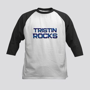tristin rocks Kids Baseball Jersey
