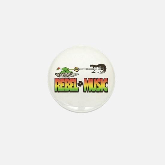 Rebel Music Mini Button