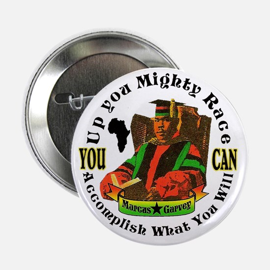 """Up You Mighty Race"" 2.25"" Button"