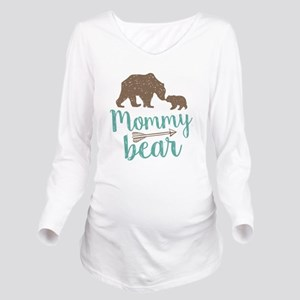 Mommy Bear Long Sleeve Maternity T-Shirt