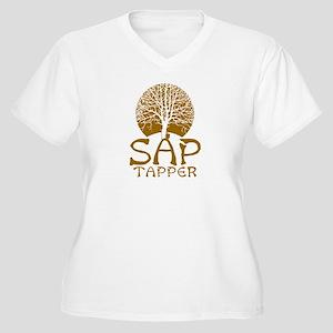 Sap Tapper - Women's Plus Size V-Neck T-Shirt