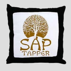 Sap Tapper - Throw Pillow