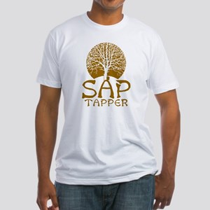 Sap Tapper - Fitted T-Shirt