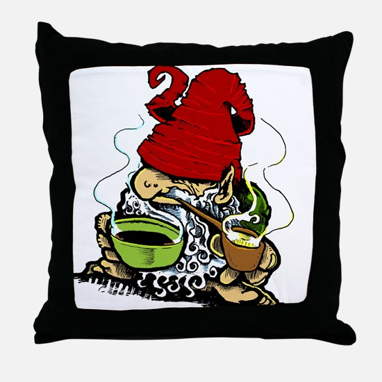 Cool Gremlin Throw Pillow