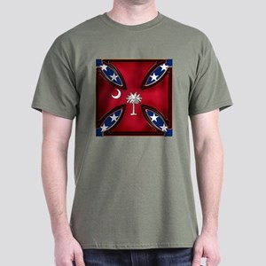 Big Red Variation Dark T-Shirt