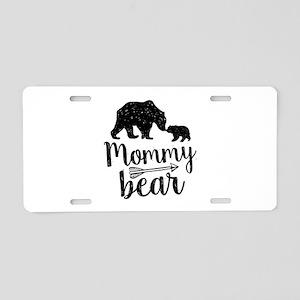 Mommy Bear Aluminum License Plate
